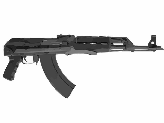 Automatic Weapon, Machine Gun, Gun, Weapon, War