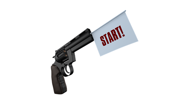 Start, Gun, Shot, Sport, Pistol, Weapon, Bang, Handgun