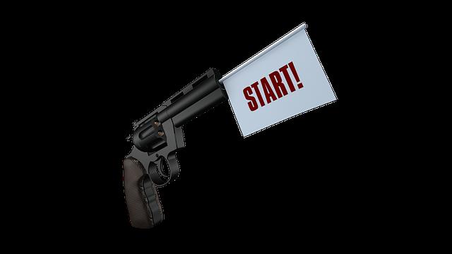 Start, Gun, Shot, Sport, Pistol, Weapon, Bang, Handgun