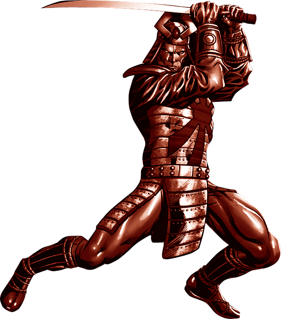 Soldier, Battle, Weapons, Guerrero, Samurai