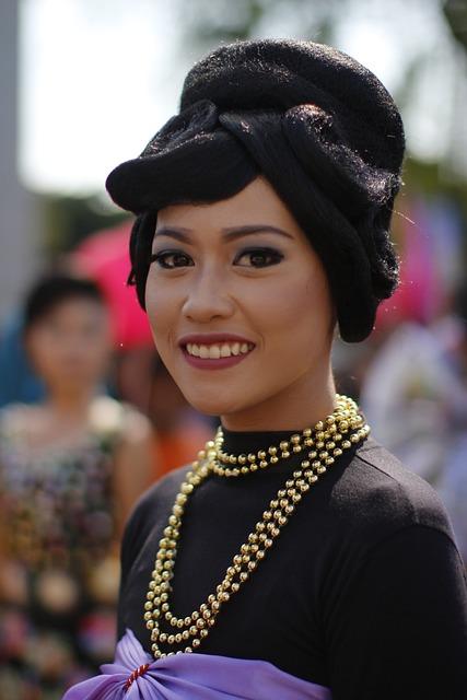Portrait, People, Wear, Festival, Adult, Asian