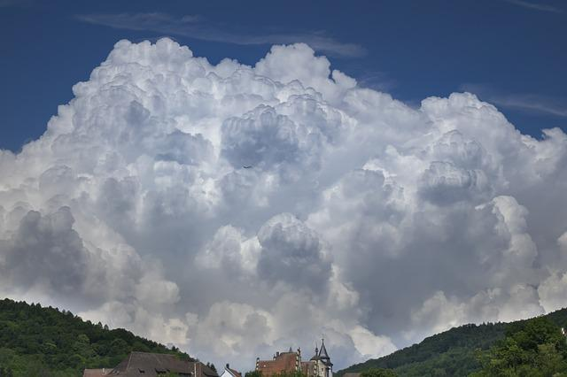 Clouds, Aircraft, Storm Clouds, Weather, Cumulus