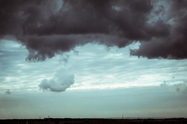 Clouds, Weather, Sky, Atmosphere, Thunderstorm