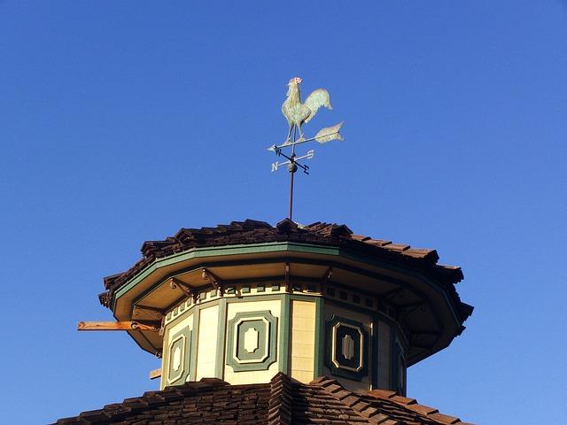 Weathervane, Weather Vane, Rooster, Wind
