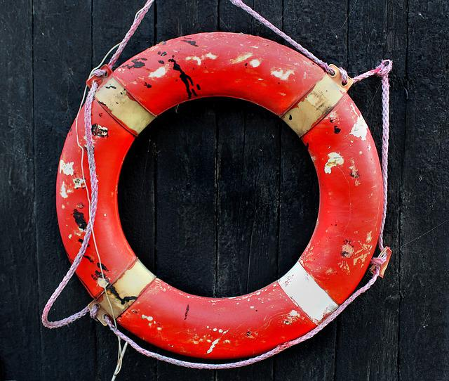 Lifesaver, Wear And Tear, Weather-beaten