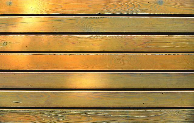 Battens, Boards, Lacquered, Weathered, Texture