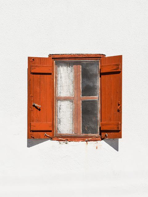 Window, Wooden, Brown, Old, Aged, Weathered