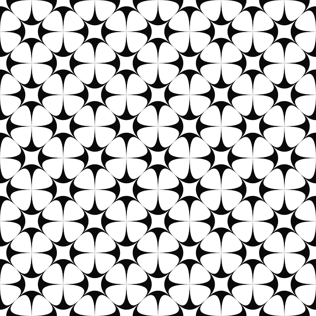 Star, Background, Pattern, Vector, Weave, Wallpaper