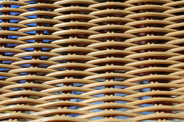 Wicker, Model, Weaving, Abstract, Bamboo