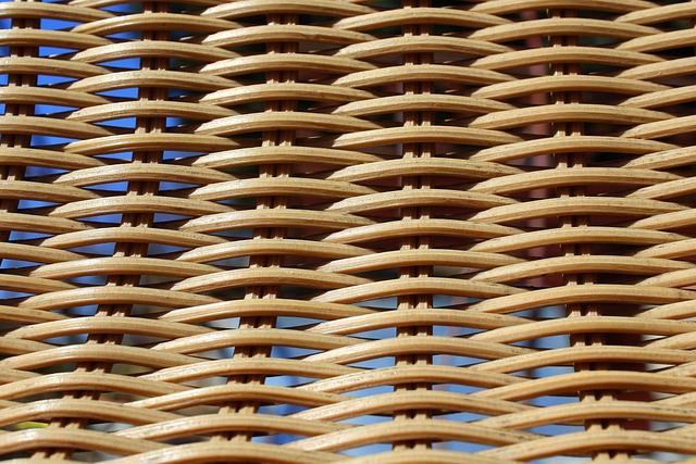 Wicker, Model, Weaving, Abstract, Bamboo