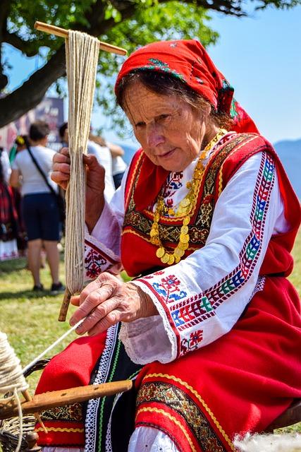 Customs, Costume, Weaving, Grandma, Tradition, Craft