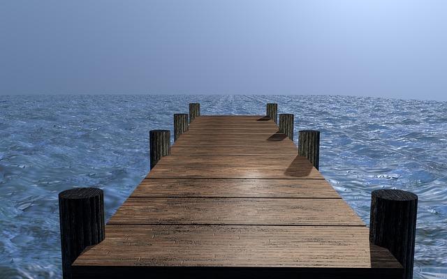 Water, Web, Lake, Bridge, Boardwalk, Atmosphere