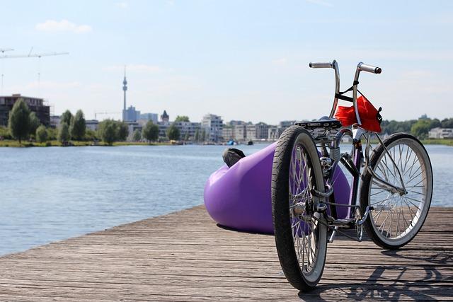 Relax, Bike, Dortmund, Phoenix Lake, Web, Authority