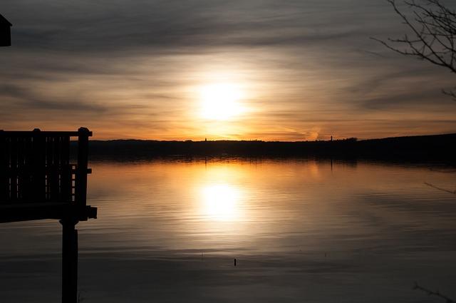 Ammersee, Lake, Bavaria, Nature, Mirroring, Web