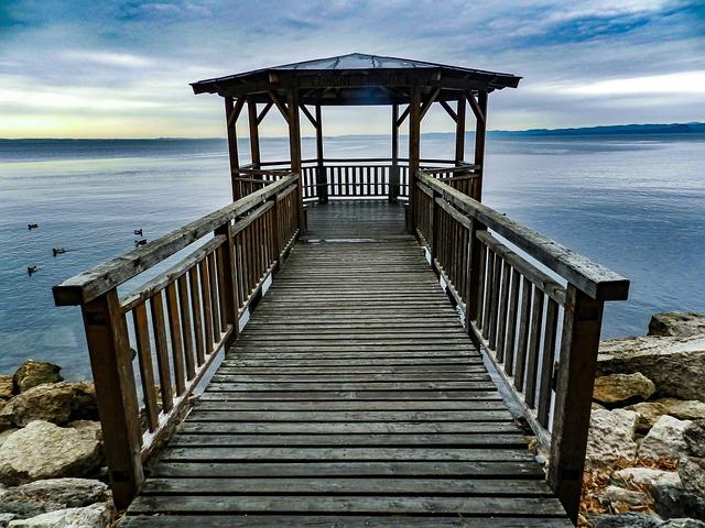 Garda, Italy, Lake View, Web, Pavilion