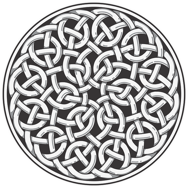 Knot, Webbing, Abstract, Design, Round, Symmetry