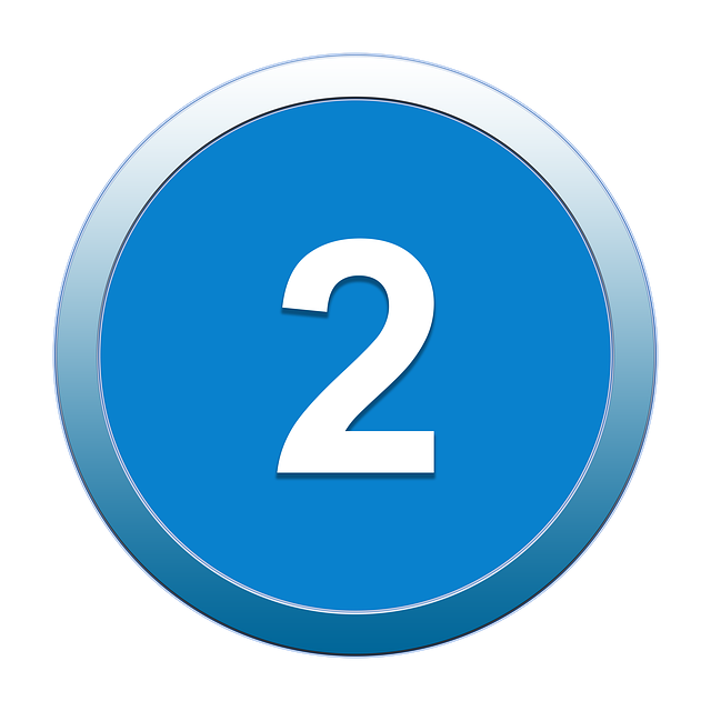 Icon, Two, 2, Button, Symbol, Website, Sign