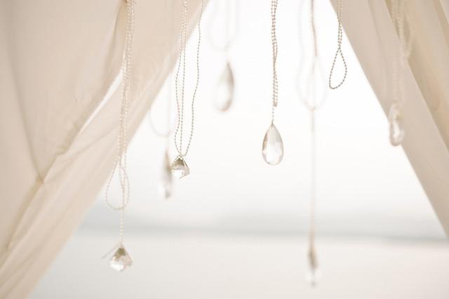 Beads, Crystal, Wedding Decoration, Wedding