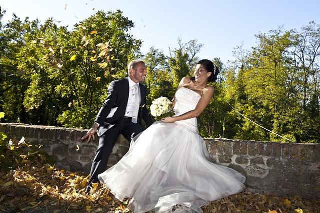 Marriage, Formal Wear, Dress, Bride, Groom, Wedding