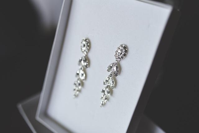 Silver, Earrings, Jewellery, Wedding