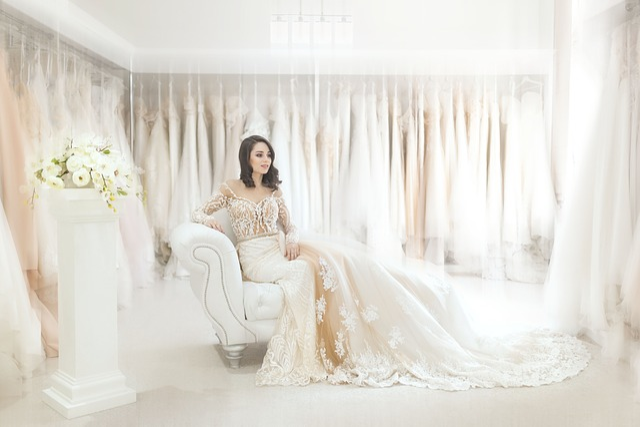Wedding, Marriage, Bride, Flowers, Bouquet, Dress