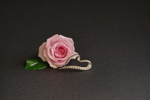Rose, Heart, Flower, Love, Wedding, Gift, Jewellery