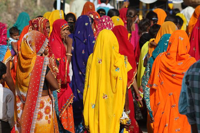 India, Wedding, Saree, Women, Traditional Clothing