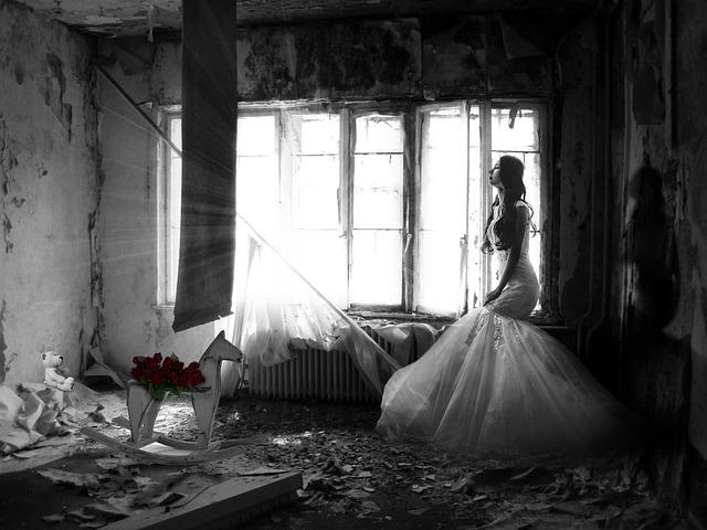 Woman, Sad, Wedding, Sadness, Mood, Mystical, Person