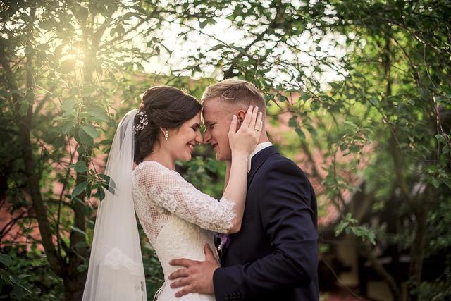 Love, Love Scam, Wedding, Couple, Nature, Bride