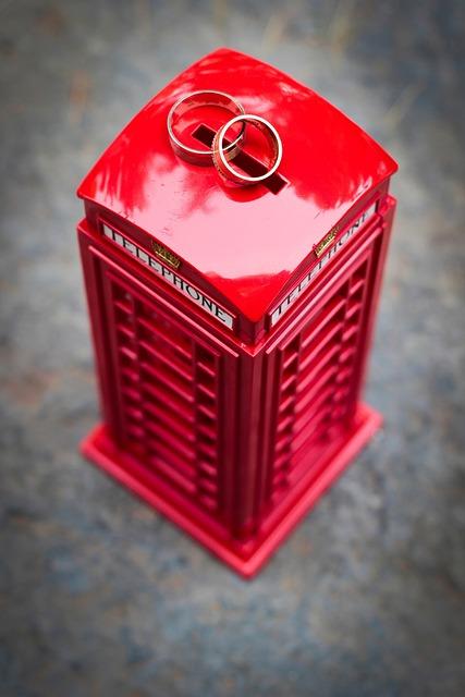Red, Wedding, Detail, Ring