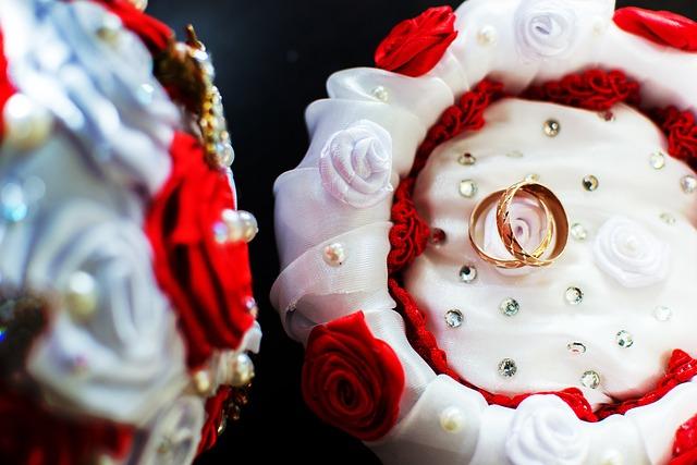 Celebration, Background, Ornament, Wedding, Rings