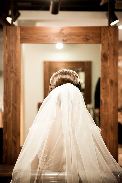 Wedding, Veil, The Bride