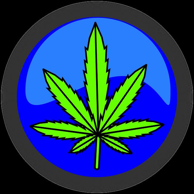Cannabis, Marijuana, Leaf, Symbol, Icon, Drug, Weed