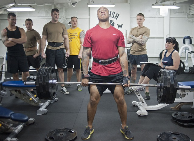 Weights, Weight Lifters, Dead Lift, Men, Woman, Gym