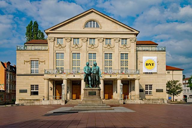 German, National Theater, Weimar, Thuringia Germany