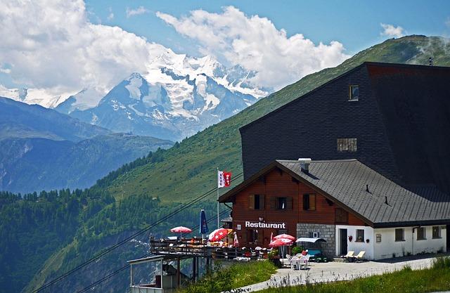 Bettmeralp, Weisshorn, Valais, Switzerland