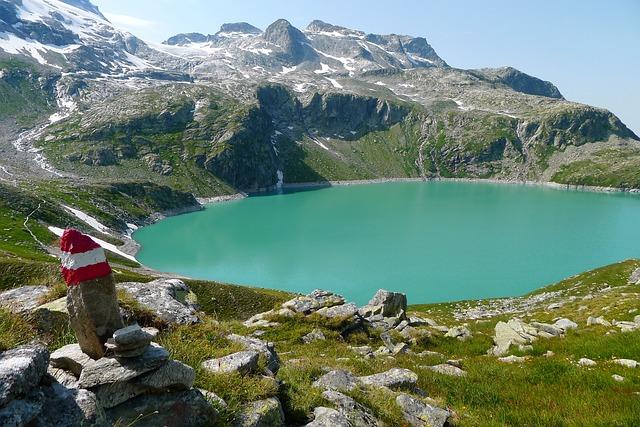 Bergsee, Weißsee, Salzburg-austria, Alpine Landscape