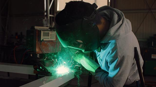 Welding, Iron, Worker, Industry, Steel, Welder