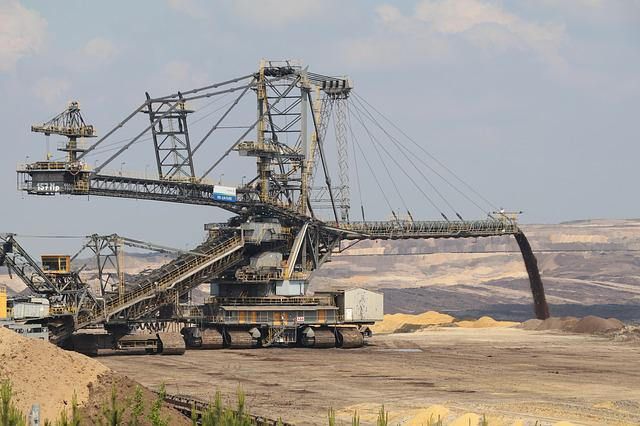 Weanling, Open Pit Mining, Welzow, Energy, Brown Coal