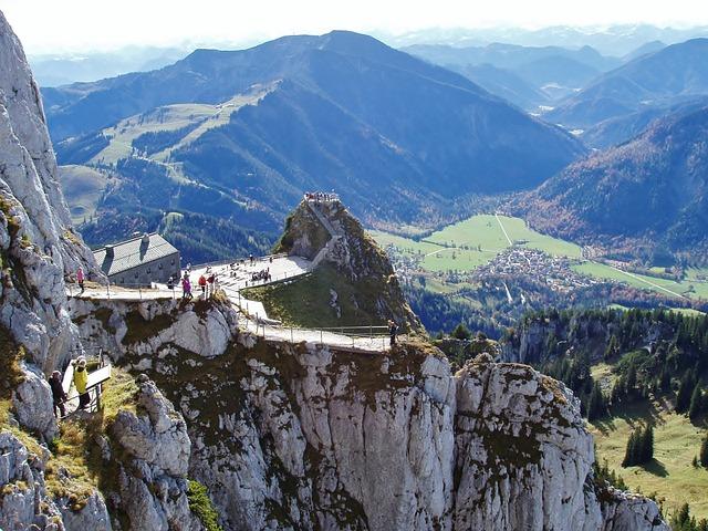 Mountain, Wendelstein, Mountains, Landscape, View
