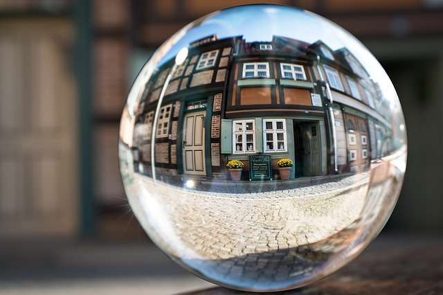 Glass Ball, Truss, Museum, Wernigerode, Smallest House