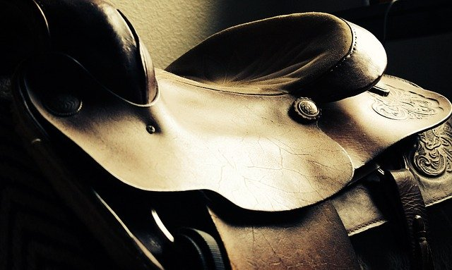 Saddle, Western, Horse, Leather, West, Cowboy, Brown