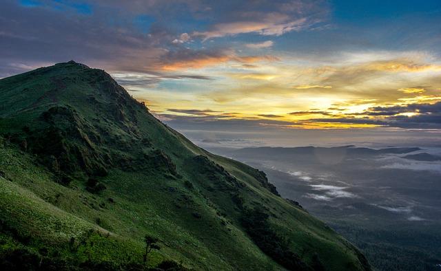 Western Ghats, Landscape, Nature, Clouds