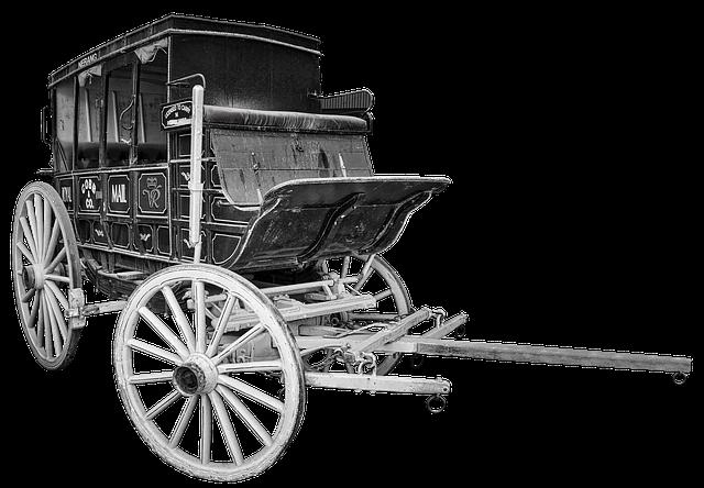 Stagecoach, Coach, Old, Wagon, Western