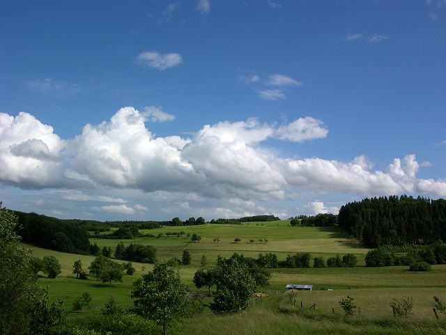 Westerwald, Germany, Landscape, Green, Westerwaldkreis