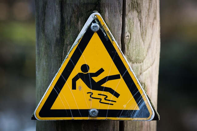 Slippery, Signal, Sign, Wet, Yellow, Safety, Janitor