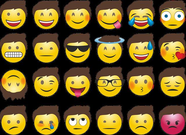 Emojis, Smilie, Whatsapp, Emotions, Laugh, Face, Happy
