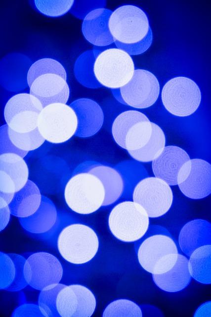 Bokeh, Blue, Light, Lights, Colors, White, Fun, Wheel