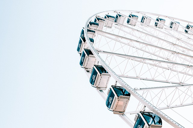 Ferris Wheel, Seattle, Washington, Downtown, Wheel