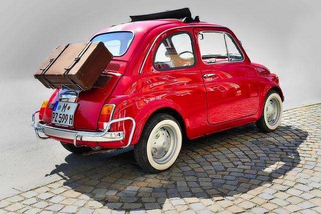 Auto, Transport System, Vehicle, Drive, Wheel, Fiat